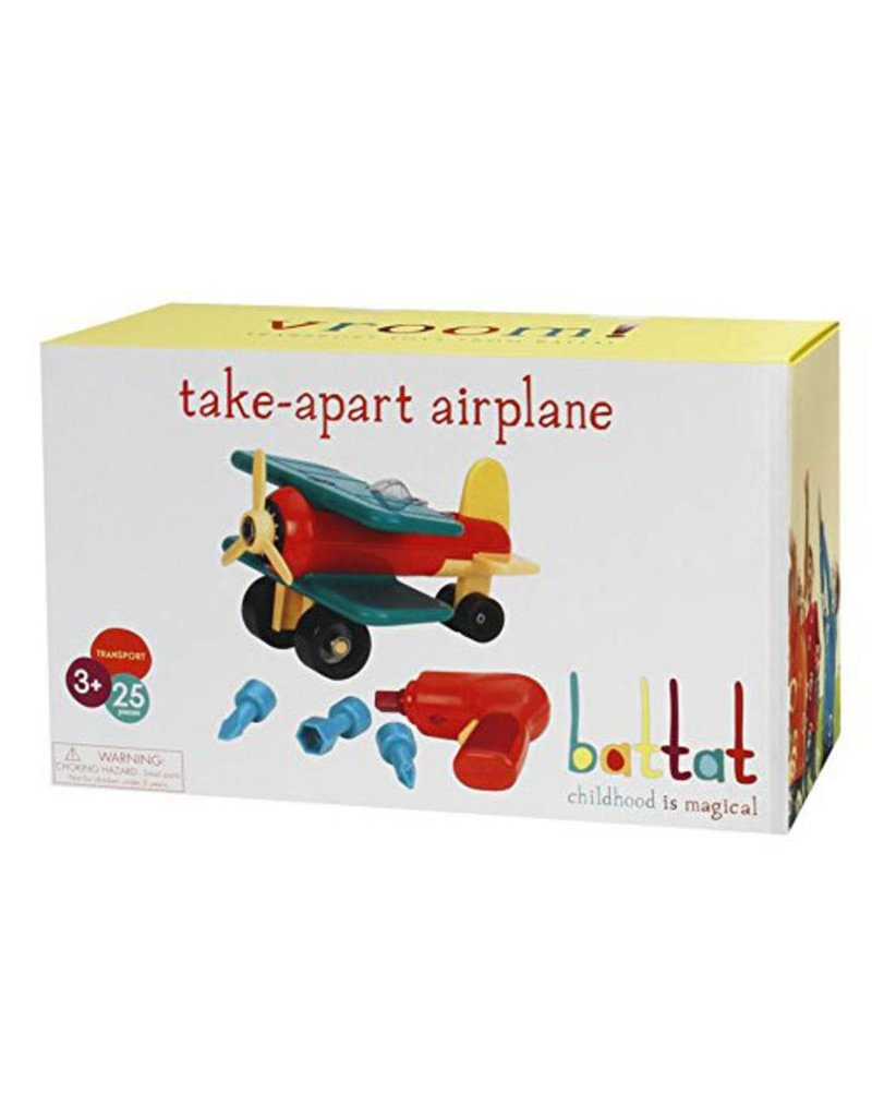 Take-Apart Airplane by Battat