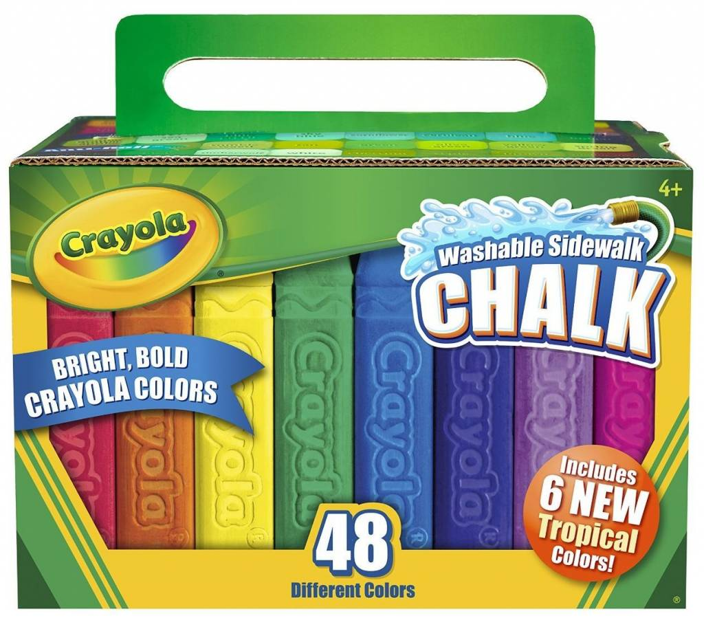 Sidewalk Chalk 48ct by Crayola