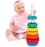 SpinAgain Stacking Toy by Fat Brain Toys