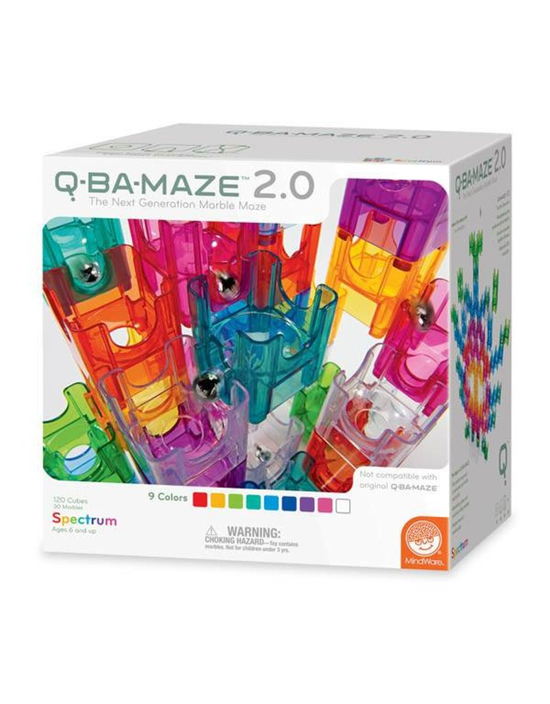 Q-BA-MAZE 2.0 Spectrum Set by Mindware
