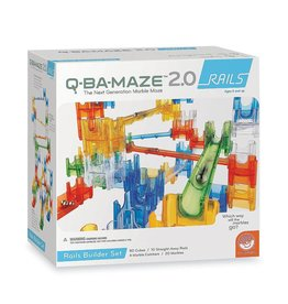 Q-BA-MAZE 2.0 Rails Builder Set by MindWare