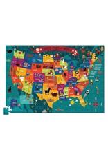 Discover America 100-pc Puzzle by Crocodile Creek