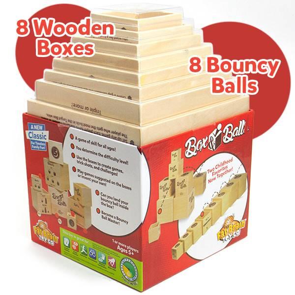 Box & Balls by Fat Brain Toys