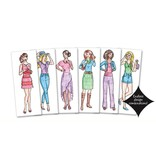 Fashion Plates Design Set by Kahootz