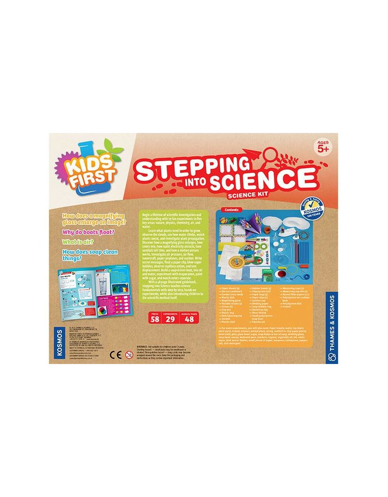Kids First Stepping Into Science by Thames & Kosmos