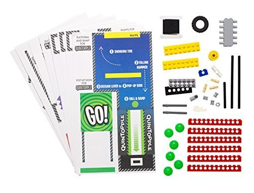 LEGO Chain Reactions Kit & Book by Klutz