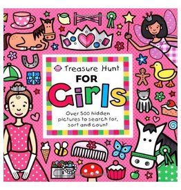 Treasure Hunt for Girls Board Book