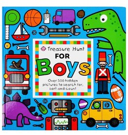 Treasure Hunt for Boys Board Book