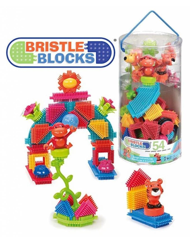 Bristle Blocks 54-pc Jungle Set