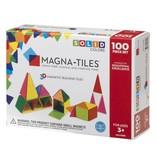 Magna-Tiles Solid Colors 100-pc Set
