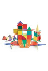 Magna-Tiles Solid Colors 100-pc Set
