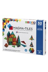 Magna-Tiles Clear Colors 32-pc Set