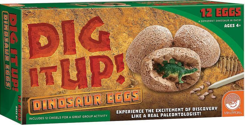 Dig It Up! Dinosaur Eggs by MindWare