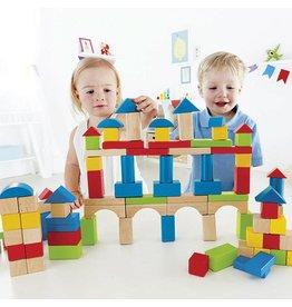 100-pc Wooden Block Set by Hape