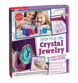 Grow Your Own Crystal Jewelry Kit by Klutz