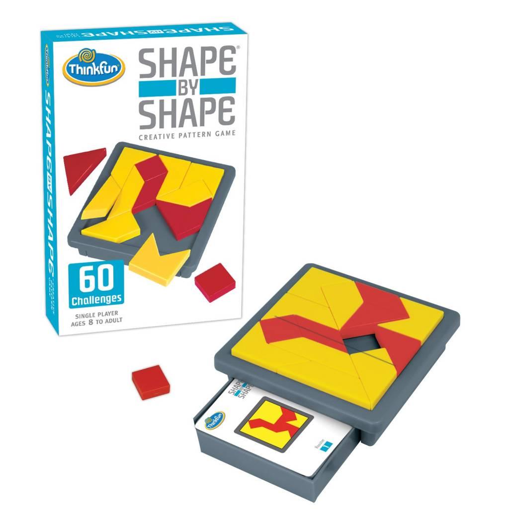Shape by Shape Game by ThinkFun