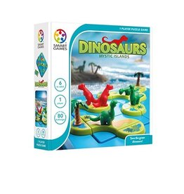 Dinosaurs: Mystic Islands Game by SmartGames - SIngle Player