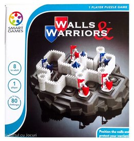 Walls & Warriors Game by SmartGames - Single Player