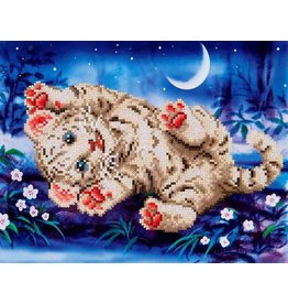 Diamond Dotz Baby Tiger Roly Poly Kit