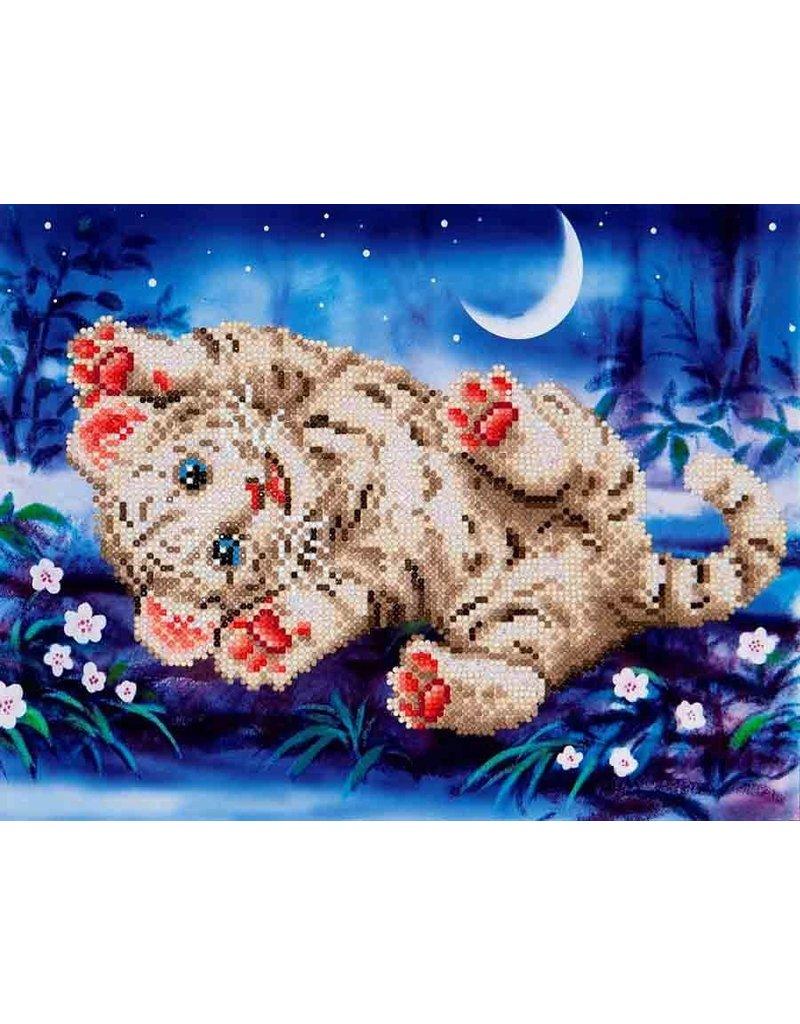 Diamond Dotz  Baby Tiger Roly Poly  Kit