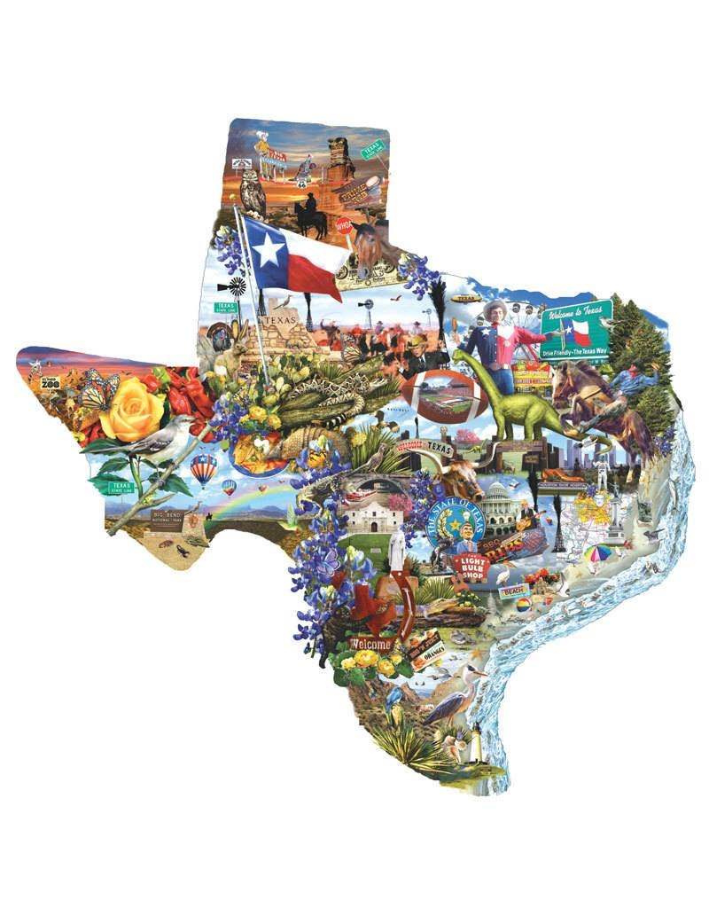 Welcome to Texas! Jigsaw Puzzle by SunsOut