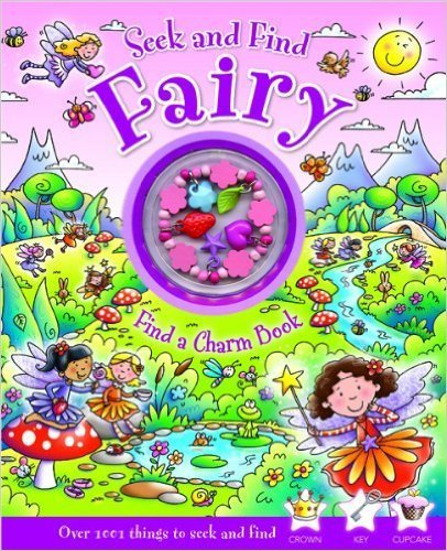 B.E.S. Seek and Find Books - Fairy or Princess