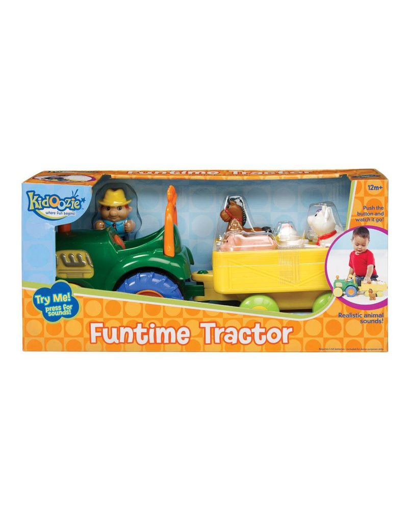 Funtime Tractor by Kidoozie