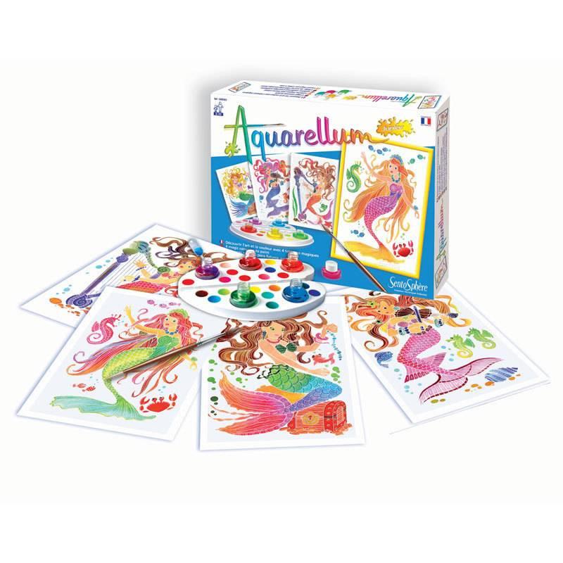 Aquarellum Junior Painting Kits by Sentosphere