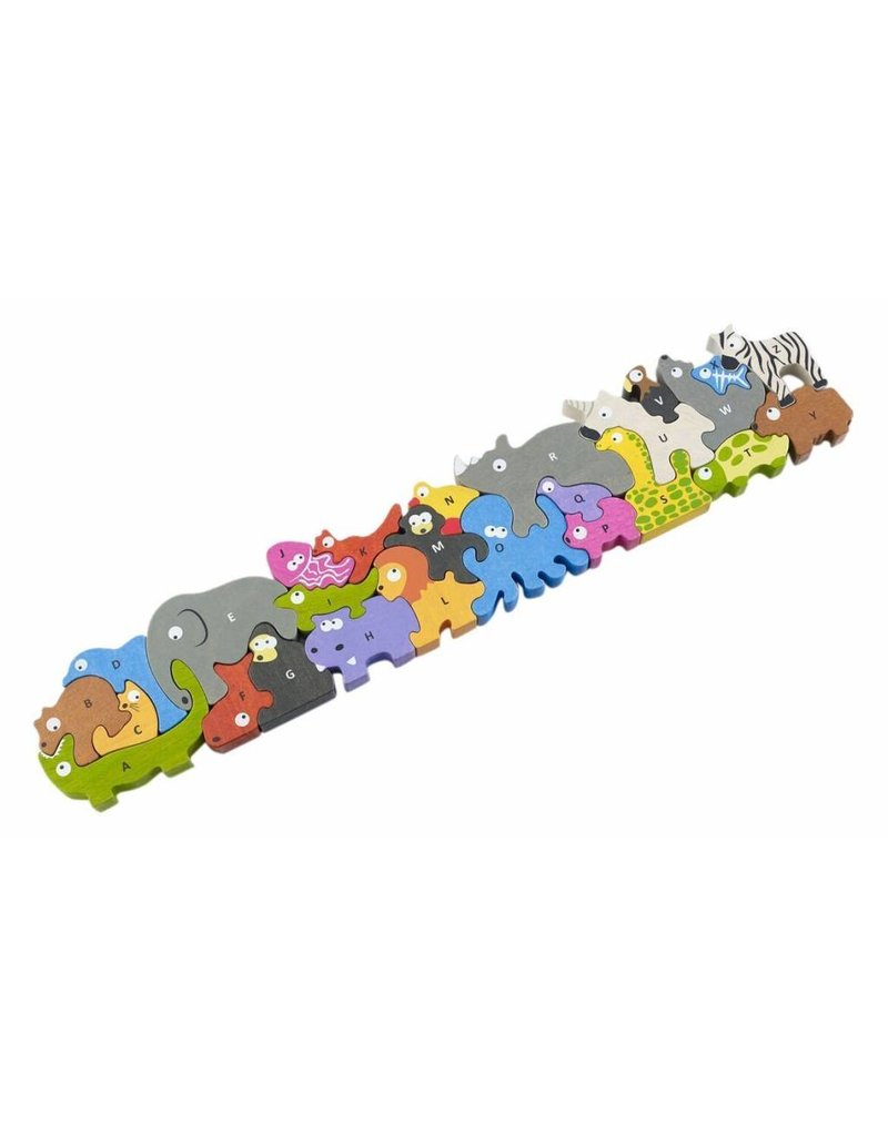 Animal Parade A-Z Puzzle by BeginAgain