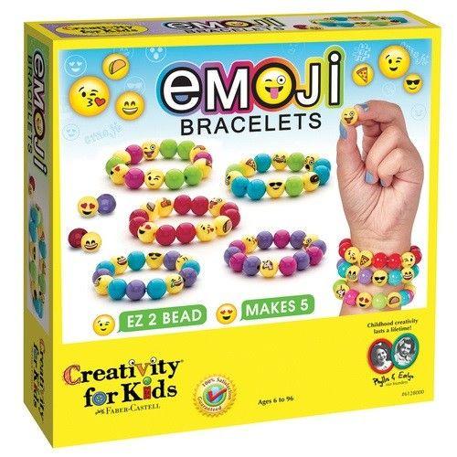 Emoji Bracelets Kit by Creativity for Kids