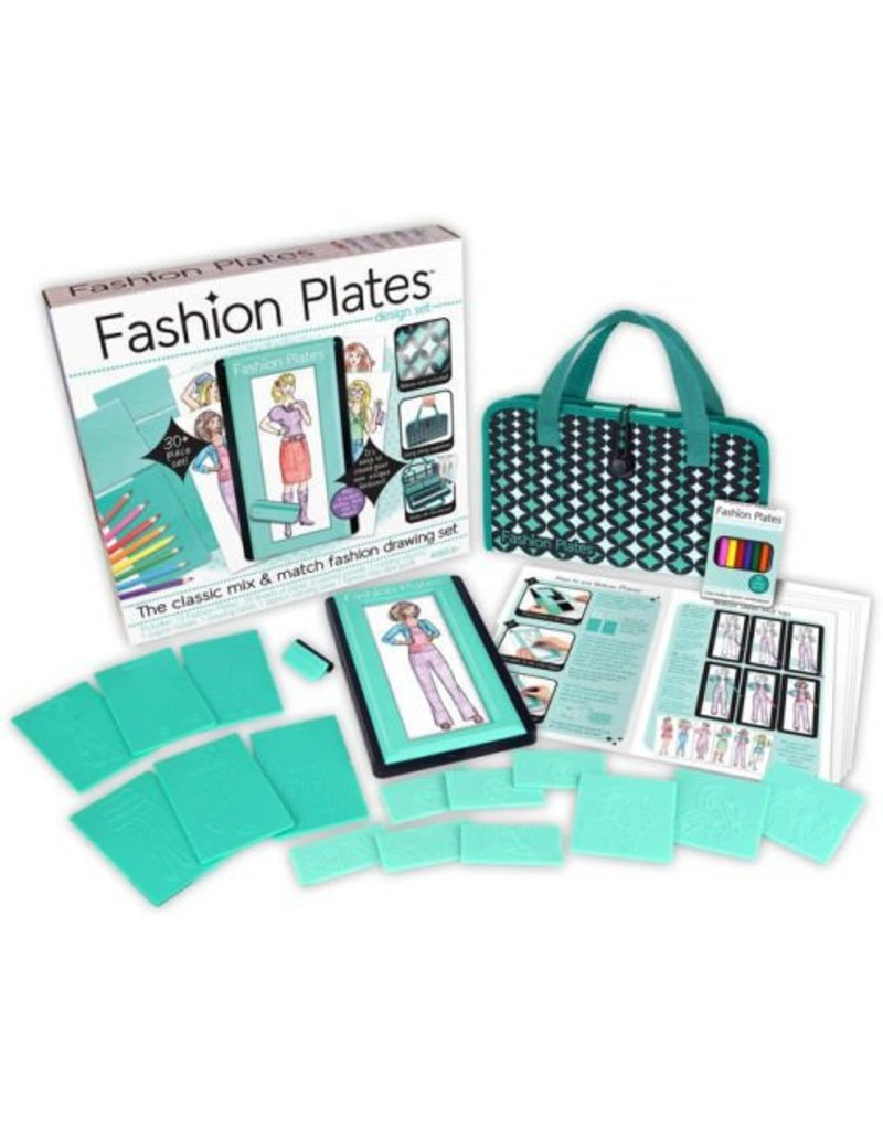 Fashion Plates Design Set by Kahootz