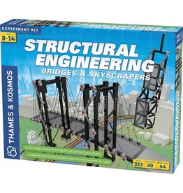 Structural Engineering: Bridges & Skyscrapers by Thames & Kosmos