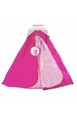Reversible Hooded Pink Princess Cape