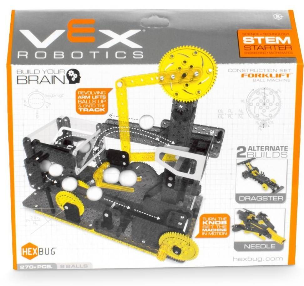 VEX Fork Lift Ball Machine by HEXBUG