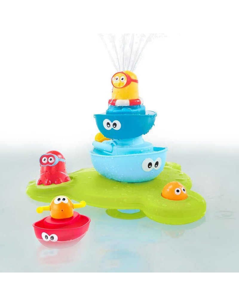 Stack N Spray Tub Fountain by Yookidoo