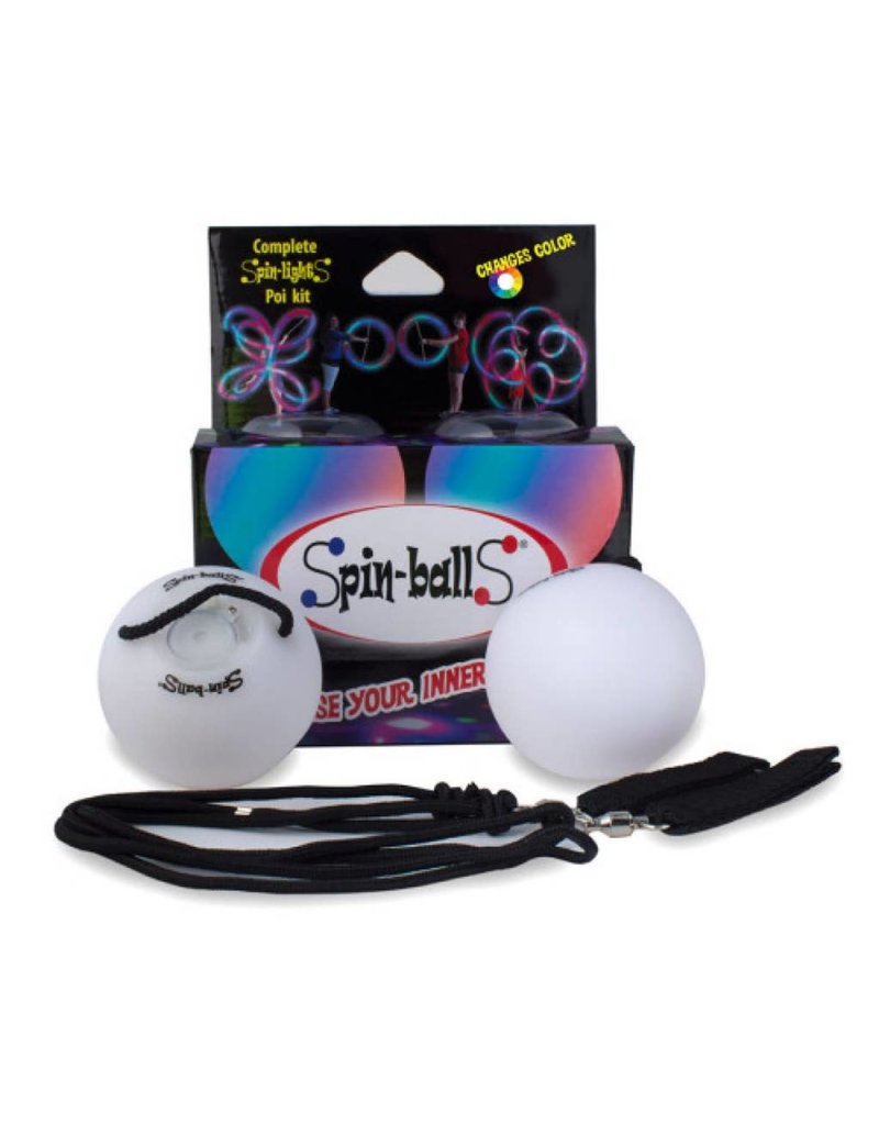 Spin Balls LED Poi Lights by Spin-ballS