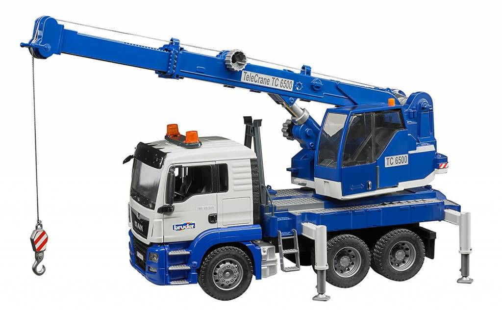 MAN TGS Crane Truck by Bruder Toys