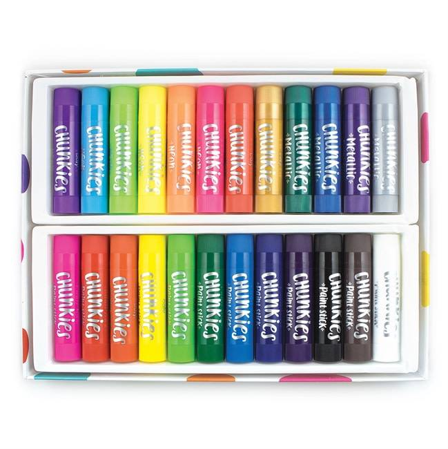 Chunkies Paint Sticks Variety Pack by Ooly