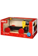 Dachshund Pull-Along Toy by BRIO