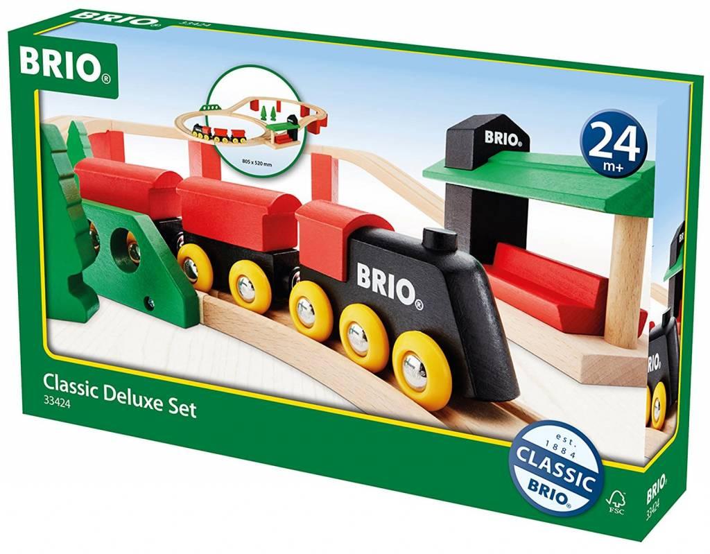Classic Deluxe Train Set by BRIO