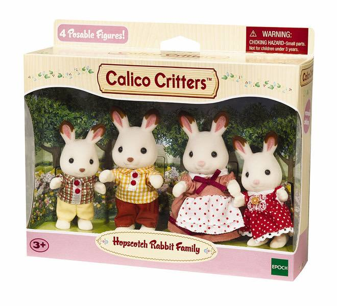 Hopscotch Family Family by Calico Critters