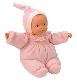 Babipouce Pink Striped Doll by Corolle