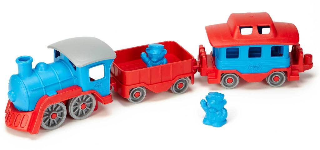 Green Toys Train - Blue