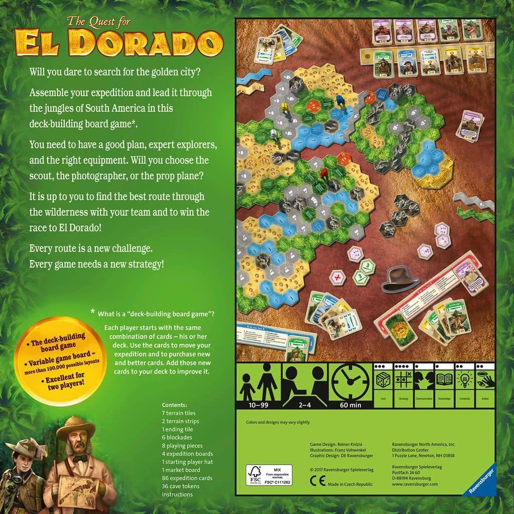 Quest for El Dorado by Ravensburger