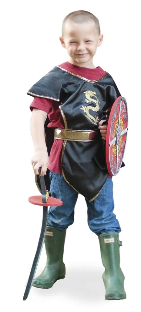 Gold Ninja Tunic  Costume