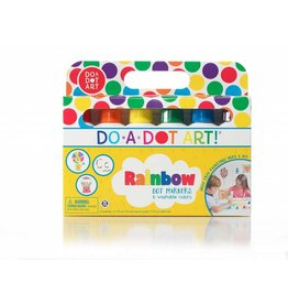 Do A Dot Do-A-Dot Art 6-Pack Rainbow Markers