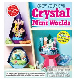 Crystal Mini Worlds by Klutz