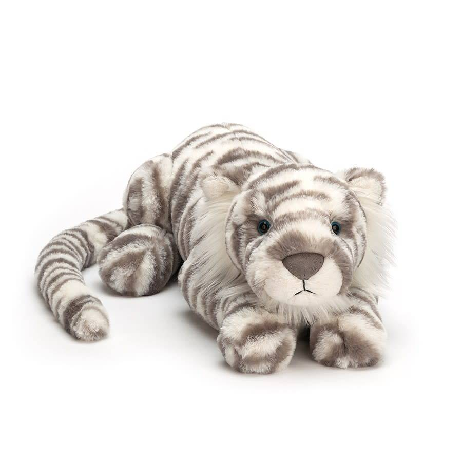 "Sacha Snow Tiger 19"" by Jellycat"