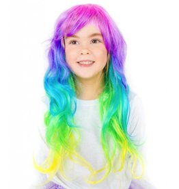 Wish Upon A Rainbow Wig by Pink Poppy