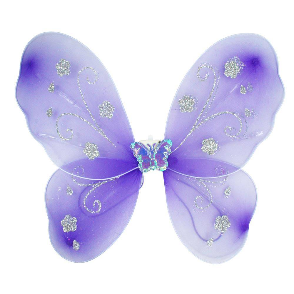 Lilac Light Up Butterfly Wings